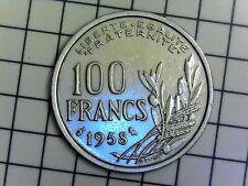 100 FRANCS 1958 Cochet (Chouette - Très belle) F.450/13 - SUP+