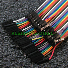 40pcs Dupont Female to Female 20cm Breadboard Jumper Wire Raspberry Arduino W26