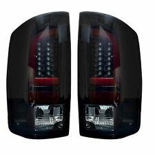 RECON 264371BK Dodge RAM 02-06 1500  2500  3500 Smoked Lens Tail Lights LED