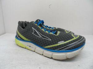 Altra Men's Torin 2.0 Running Shoes A1534-4 Gray/Limestone/Blue Size 11M