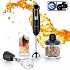 3 in 1 Hand Blender Mixer Food Processor Set Beaker Whisk Multi Speed BRAND NEW