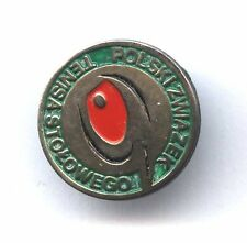 pin POLISH TABLE TENNIS FEDERATION Tisch Tenis badge PZTS