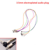 3.5Mm Jack Cord Stereo Audio Cable Male To Male 90Degree Right Angle Cable JE