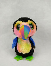 "6"" TY Beanie Boos New Beaks 2017 Toucan Colored With tag Plush Toys"