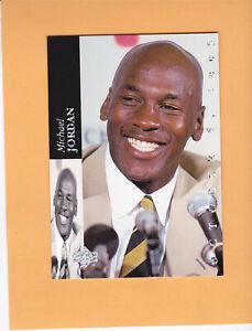 1993 94 UPPER DECK SE #MJR1 MICHAEL JORDAN RETIREMENT CHICAGO BULLS