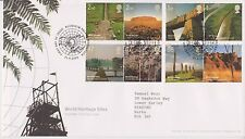 BLENHEIM PMK GB ROYAL MAIL FDC FIRST DAY COVER 2005 WORLD HERITAGE STAMP SET