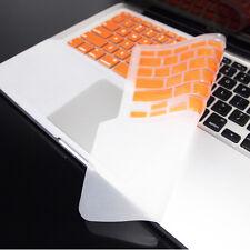 FULL ORANGE Keyboard Skin Cover Case for Macbook Pro 13
