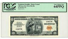 Dominican Rep … P-76 … 100 Pesos Oro … ND(1950-58) … *UNC*