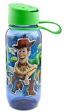 Disney Store Pixar Toy Story Woody Buzz Lightyear Rex Water Bottle