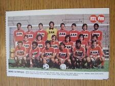 "1976/1977 Football Magazine (France) Colour Team Group [8""x 5""] Cut Outs: Nimes"