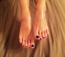 Photos of My Feet, 15 Photo Set no used worn socks  Pics!