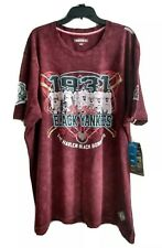 New York Black Yankees Mens Black Bombers Negro League Baseball T-shirt 4XL New