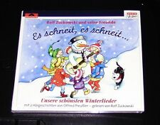 Rolf Zuckowski es schneit es schneit Unsere (Notre) plus beaux Winterlieder CD