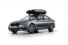 Genuine BMW Barras De Techo Aluminio Bloqueable Rack 5 Series G30 82712360951