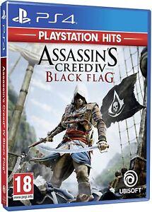 Assassin's Creed 4 Black Flag Playstation 4 PS4 Playstation Hits NUOVO ITA