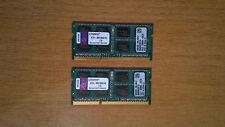 RAM DDR3 8GB 2X4GB 8500 1066MHZ NOTEBOOK MAC PC SODIMM  KINGSTON KTA-MB1006/4G