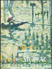 La création de l'oeuvre chez Paul Signac. Catalogo mostra, Marlborough 1958
