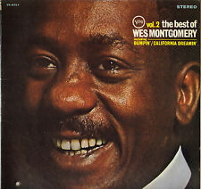 "WES MONTGOMERY ""THE BEST OF, VOL. 2"" GUITAR JAZZ 60'S LP VERVE V6-8757"