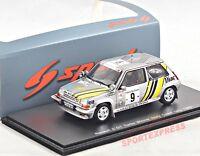 NEW 1/43 Spark S3859 Renault R5 GT turbo, Ivory Coast Rallye 1989, #9