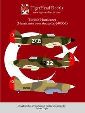Tigerhead Decals 1/48 Turkish Hawker Hurricanes # 48006