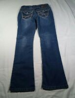 Wallflower Jeans Juniors Blue Bling Size 5