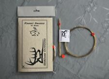 10 RABBIT SNARES made with 22 gauge Brass wire