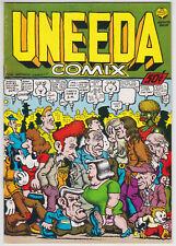 Uneeda Comix #1 VF 7.0 Robert Crumb Art First Print!