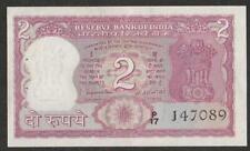 1970 INDIA 2 RUPEE NOTE UNC