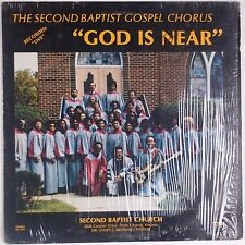 SECOND BAPTIST GOSPEL CHORUS: God Is Near PRIVATE Black Gospel Virginia LP mp3
