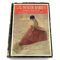 Vtg 1937 THE WATER BABIES Charles Kingsley Jessie Wilcox Smith Illustrator HC/DJ