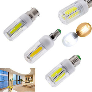 12W 16W COB LED Corn Light Bulb E27 B22 E14 Super Bright 110V 220V Home Lamps RM