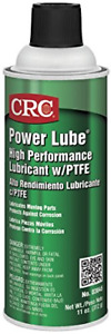 CRC Power Lube Industrial High Performance Lubricant with PTFE, 16 oz. Net 11 oz