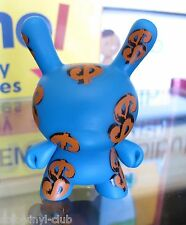 Kidrobot Andy Warhol Dunny Series Dollar Signs  - open blindbox