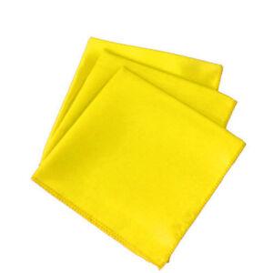 "100pc 20"" X 20"" Square Satin Table Napkin handkerchief Hanky Wedding Party Decor"