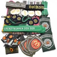 100X East German GDR Army Military Uniform Patches Epaulettes Rank Slides Badges