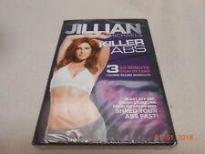 BRAND NEW SEALED JILLIAN MICHAELS KILLER ABS (2012, DVD)  3-30 MINUTE WORKOUTS