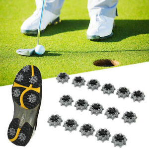 16Pcs Replacement Golf Shoes Spikes Studs Cleats Fast Twist for Tri-Lok Footjoy
