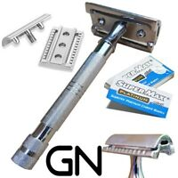 New Vintage Safety Razor +double edge shaving blades shaver