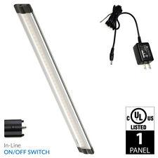 Lightkiwi L5732 12 Inch Cool White LED Under Cabinet Lighting - 1 Panel Kit