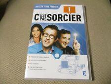 """DVD NEUF """"C'EST PAS SORCIER - OBJECTIF TERRE PROPRE"""" Fred & et Jamy"""