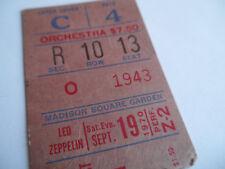 LED ZEPPELIN__1970__Original CONCERT TICKET STUB__Madison Square Garden__EX+