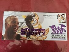Trombone Shorty 2013 New Orleans Jazz Fest Cachet Envelope