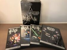 Star Wars Trilogy IV V VI 4 5 6 DVD 4-Disc Box Set Widescreen REMASTERED VERSION