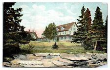 1910 Samoset House, Mouse Island, Maine Postcard