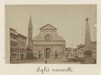 Florence Firenze Italia Vintage Albumina 6x9, 4cm Ca 1880
