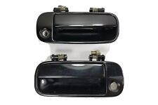 90 91 92 93 Acura Integra Pair Driver Passenger Left Right Door Handle Black OEM