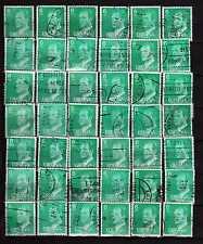 España : 1977 ( Edifil 2392 ) Lote 42 sellos 6 Pesetas JUAN CARLOS I ( usados )