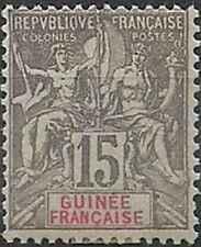 Timbre Guinée 15 * lot 23082 - cote * : 120 €