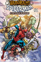 War of the realms Spider-Man & the league of Realms #1 Marvel Comics 2019 NM