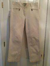 Talbots Women's Signature Style Pants    Size 6  Light Tan      (T001K)